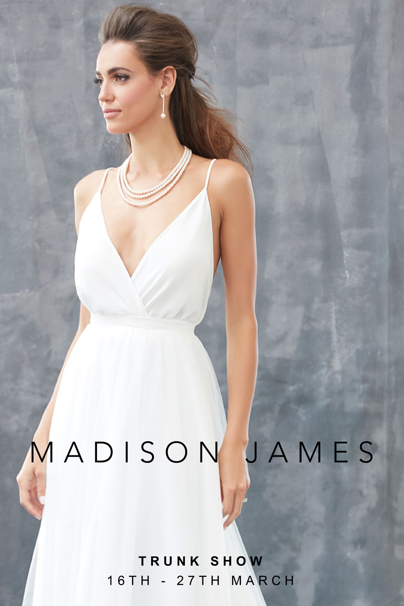 madison james 2017 wedding dress trunk show coming to melbourne