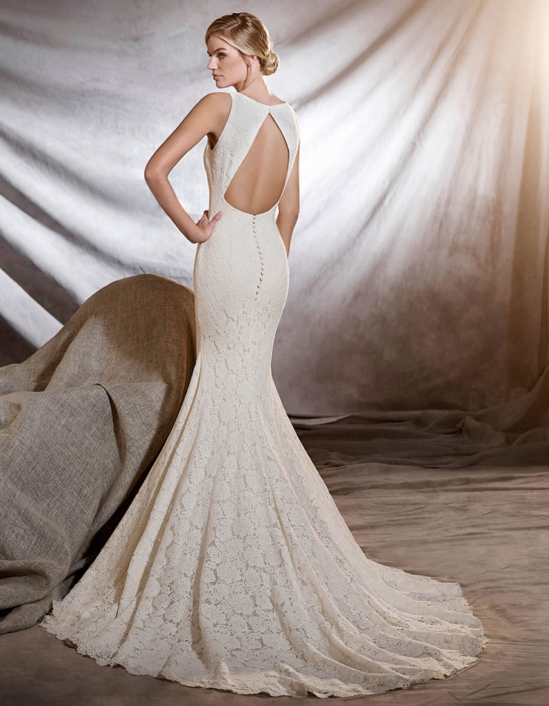 PRONOVIAS ORNANI rear