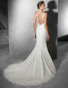 PRONOVIAS PRUNELLE rear