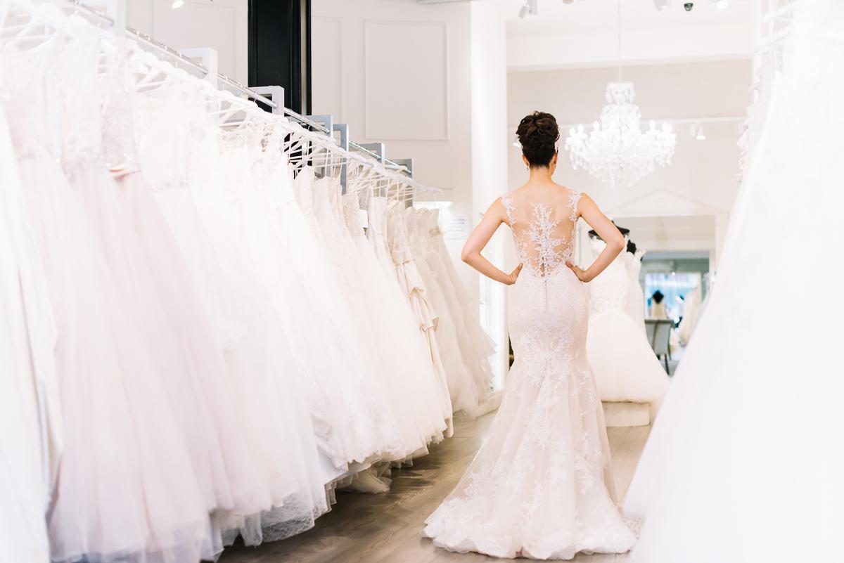 Noelle by Maggie Sottero wedding dress showcased in Melbourne, Australia