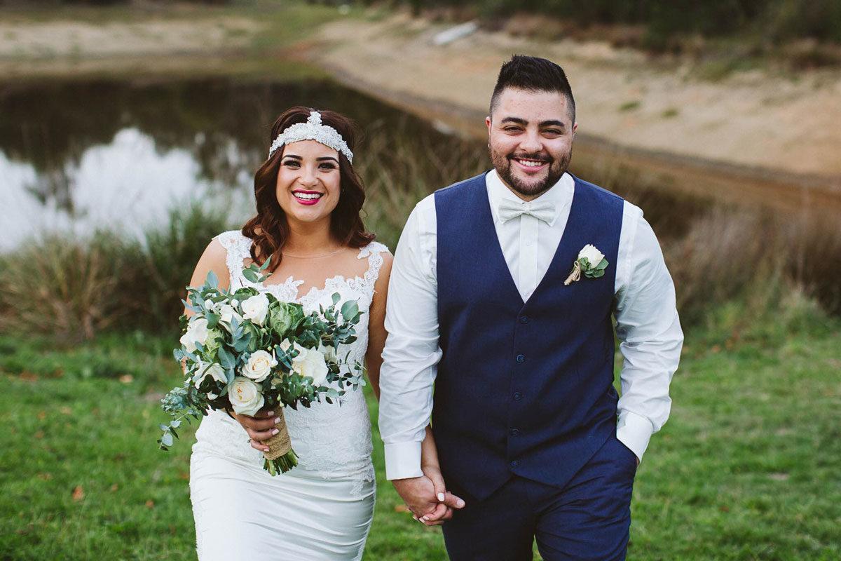 Raffaele Ciuca Real Bride Kristen, Melbourne wedding, Pronovias Prunelle wedding dress