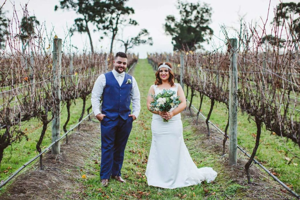 Pronovias Real Wedding Inspiration: Real Bride Kristen Wore Prunelle By Pronovias For Her