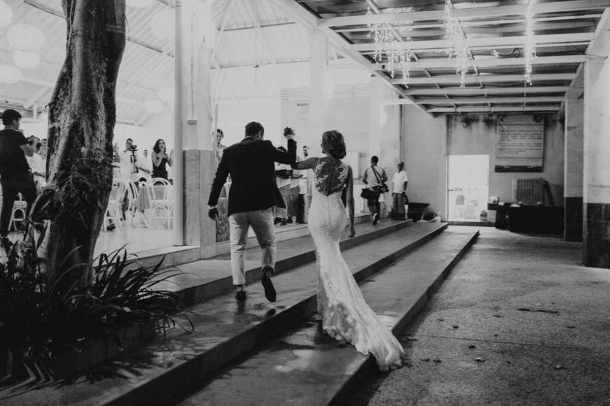 Raffaele Ciuca bride married in Bali in our Prunelle wedding dress by Pronovnas