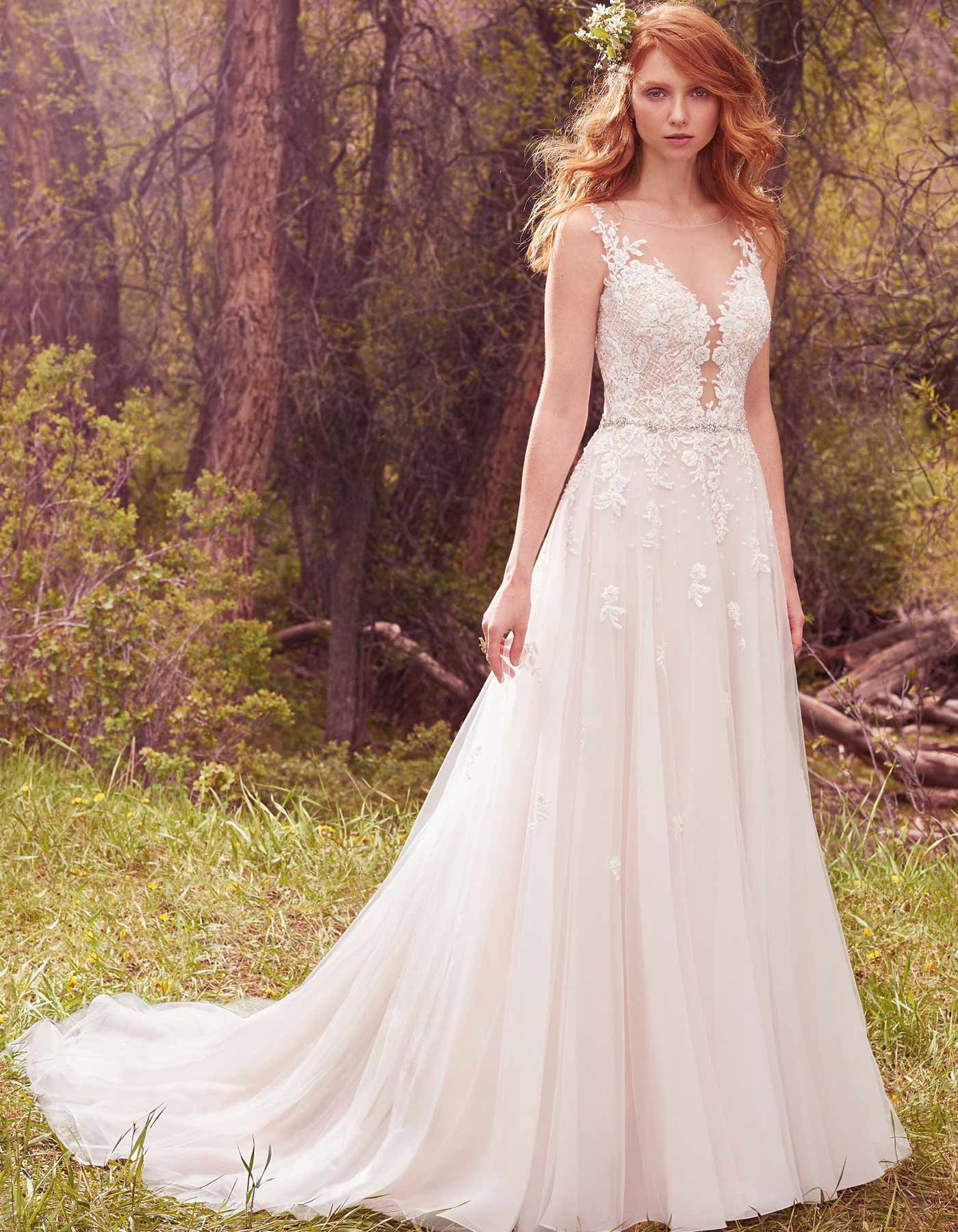 Maggie Sottero Avery wedding dress available at Raffaele Ciuca Bridal, Melbourne Australia