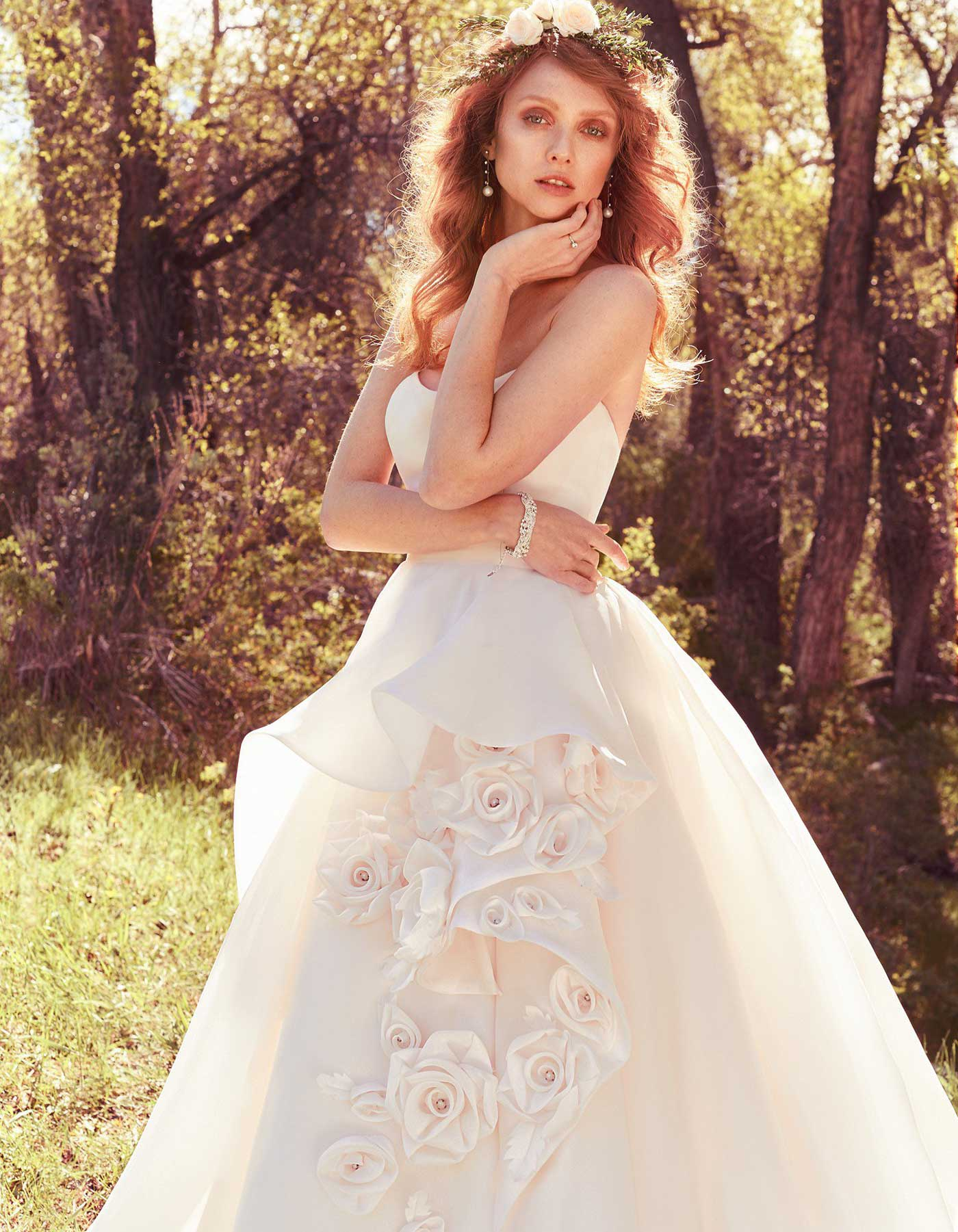 Bianca Maggie Sottero Modern Couture Look Ball Gown