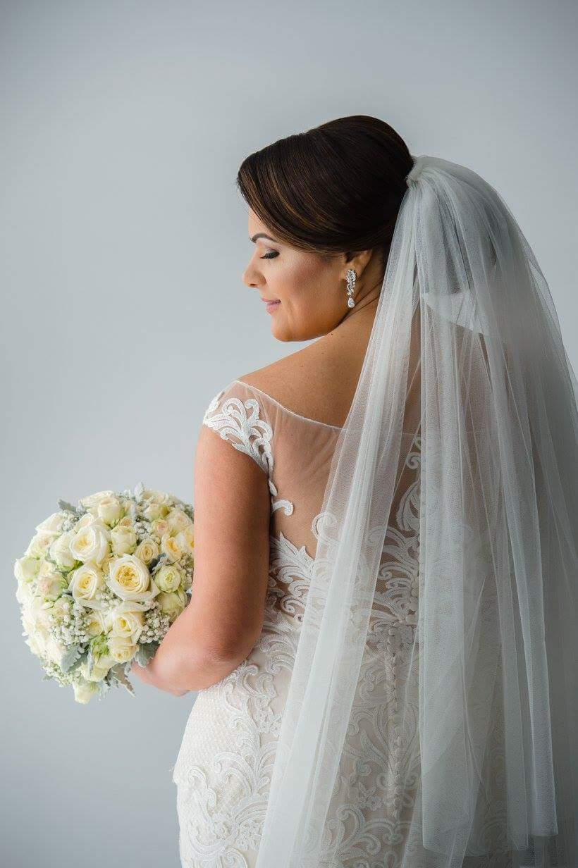 Real bride wears Cassandra wedding dress by Sottero and Midgley by Maggie Sottero in Melbourne, Australia