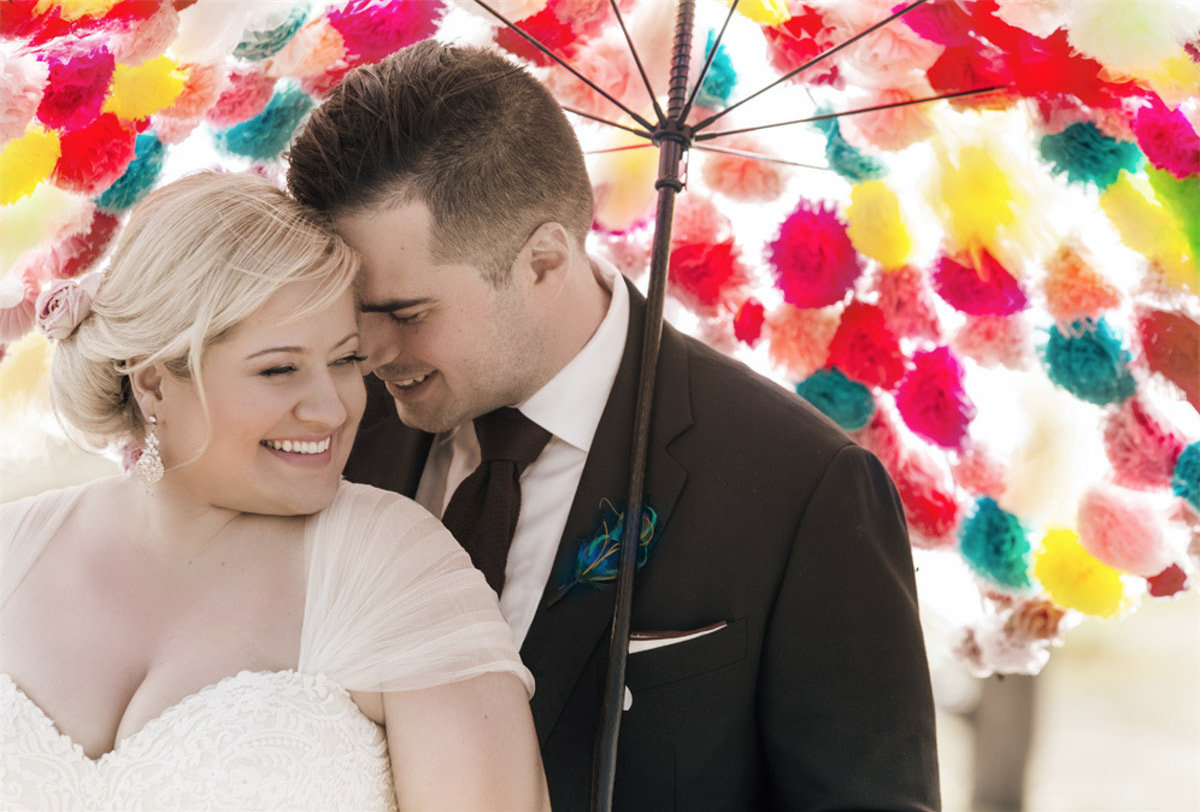 Melbourne bride wears Maggie Sottero lace wedding dress from Raffaele Ciuca Bridal