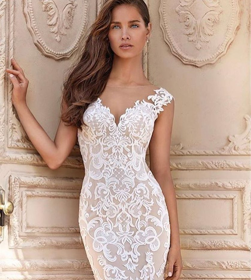 Bold Lace Wedding Dress 713 By Demetrios Bold Wedding Dresses Welcome To Greenestbrick Com