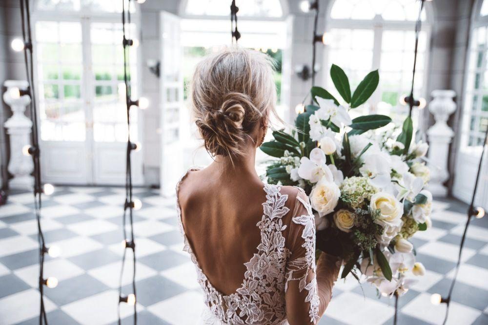 Raffaele Ciuca Berta Bridal wedding dress photoshoot at Cambell Point House-068