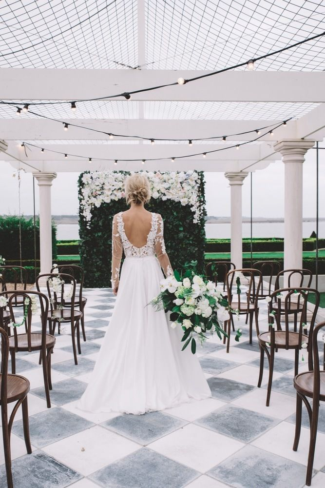 Raffaele Ciuca Berta Bridal wedding dress photoshoot at Cambell Point House-092