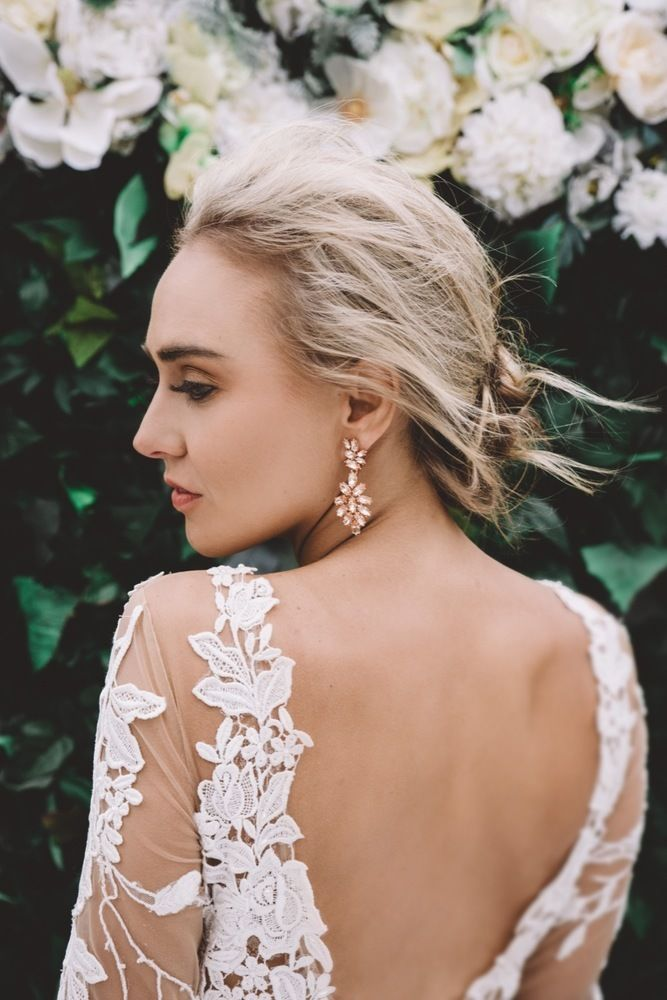 Raffaele Ciuca Berta Bridal wedding dress photoshoot at Cambell Point House-100