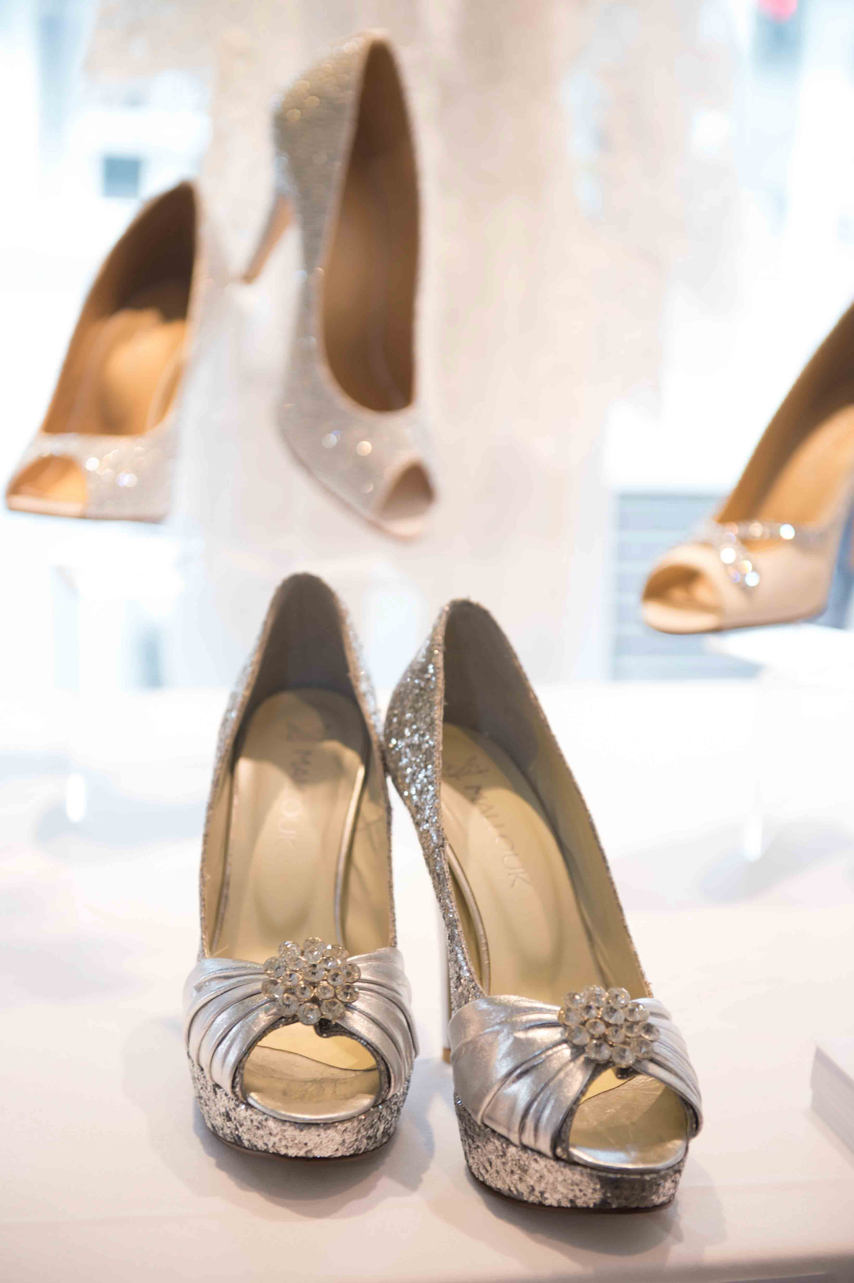 Custom made bridal shoes/ heels by Mallouk Melbourne