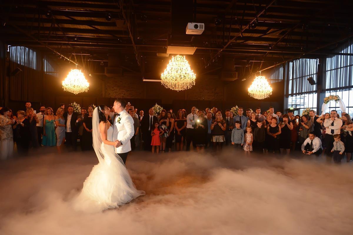 Raffaele Ciuca-Real bride michelle marries in Pronovias Beca gown for Melbourne city wedding_13