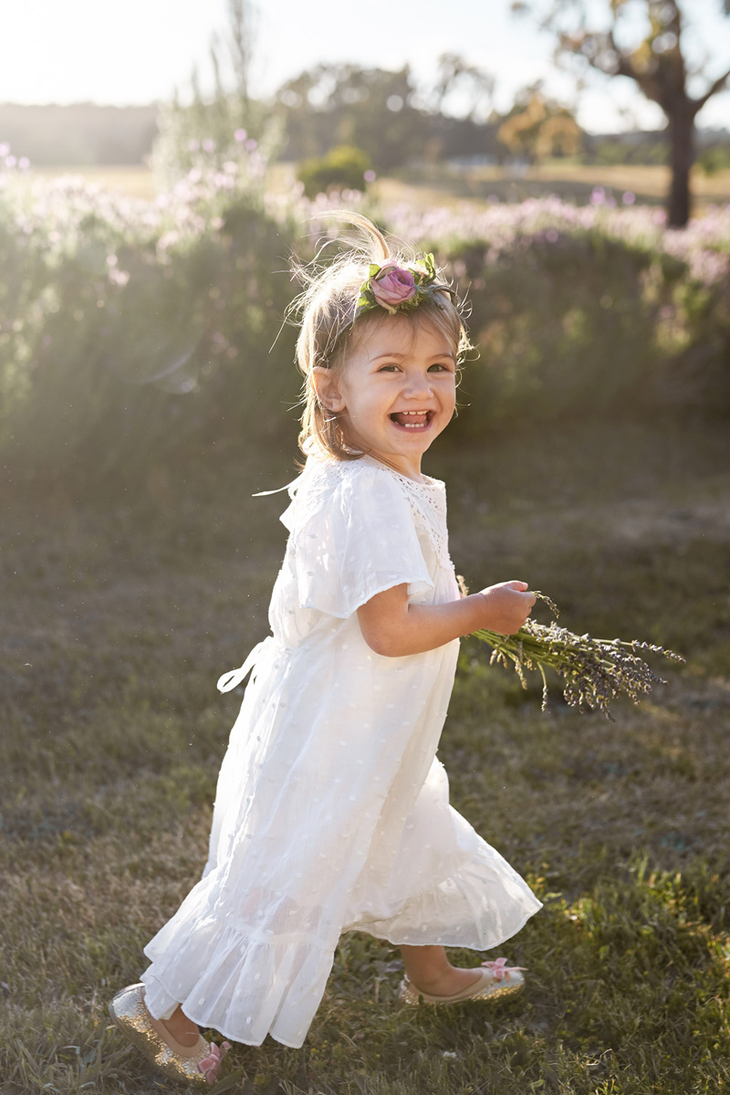 bohemian flower girl dress for wedding