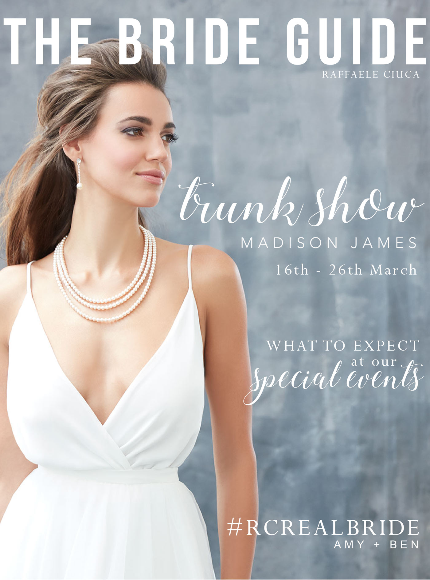 Trunk Shows | What to expect weddings
