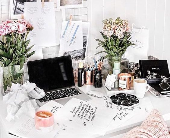 beautiful desk
