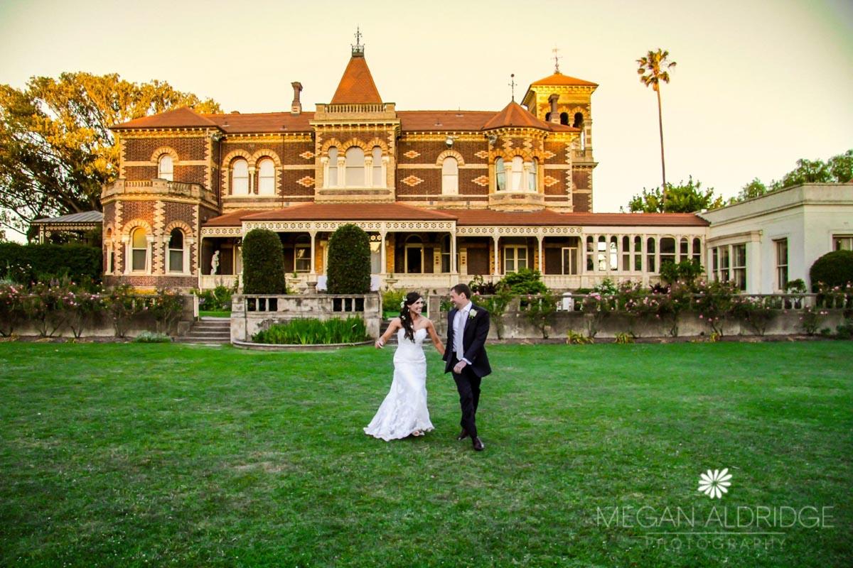 bride and groom Melbourne wedding