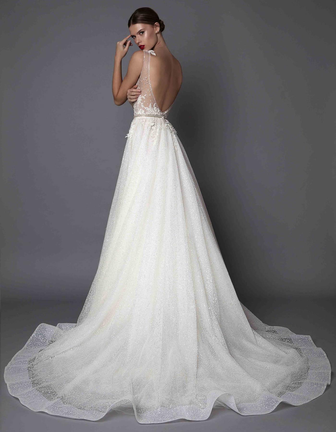 Beaded Ballgown Wedding Dress Aurelia Muse By Berta Bridal