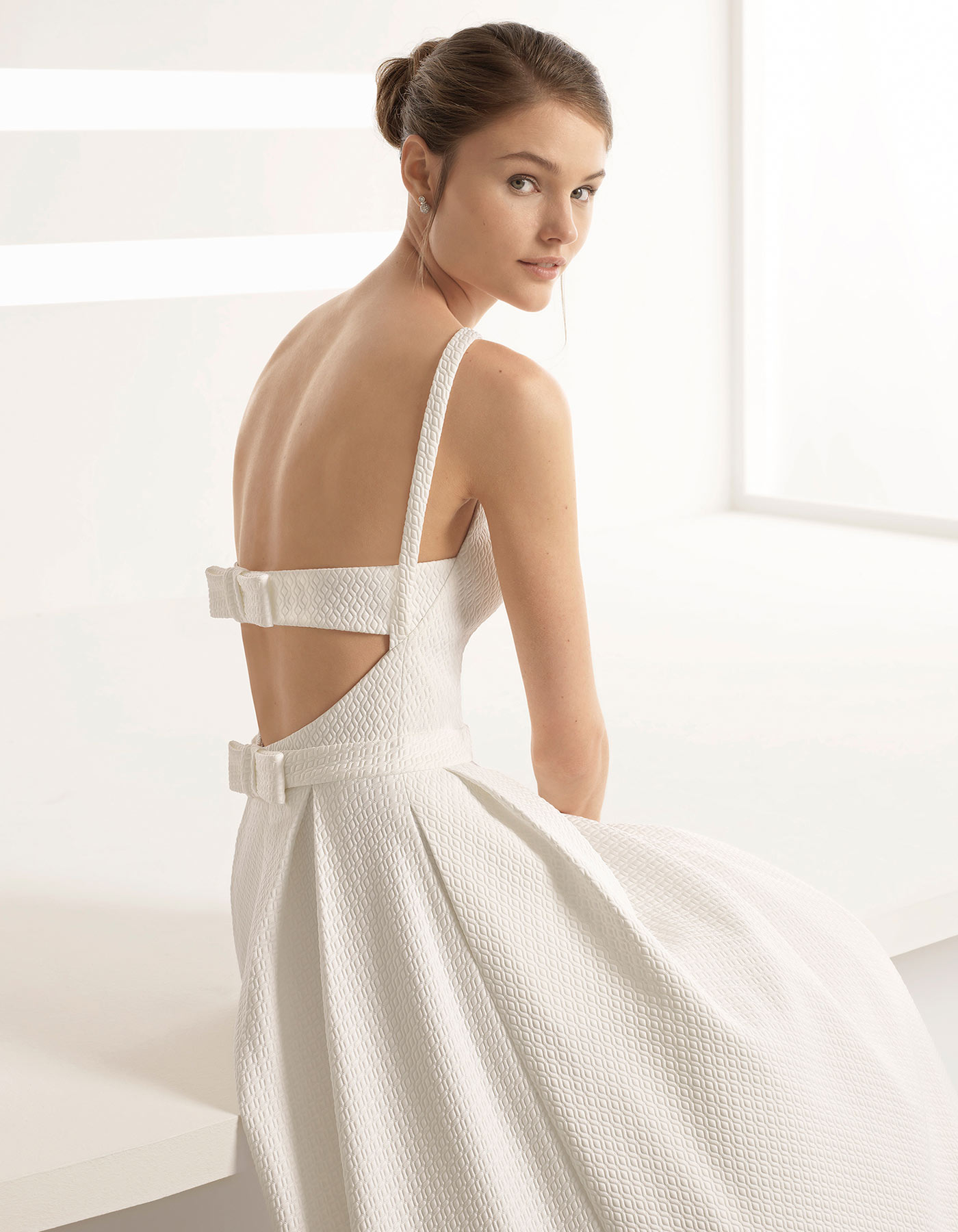Minimalist Ballgown Wedding Dress Apolo By Rosa Clara