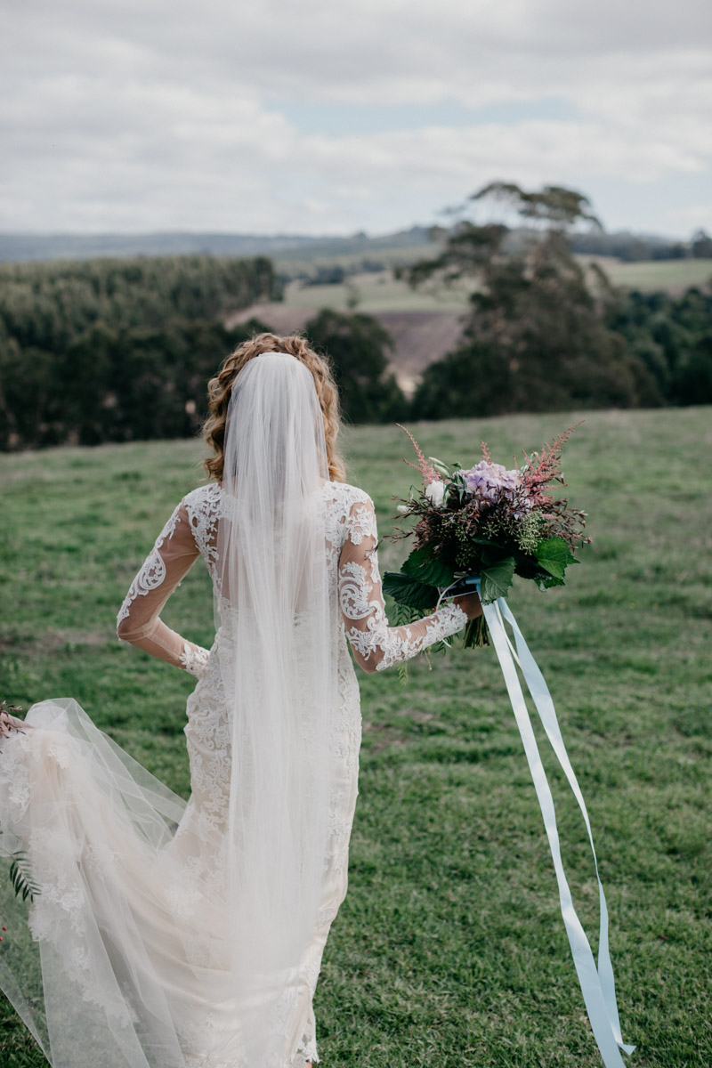 real bride francine wedding dress by maggie sottero melbourne australia