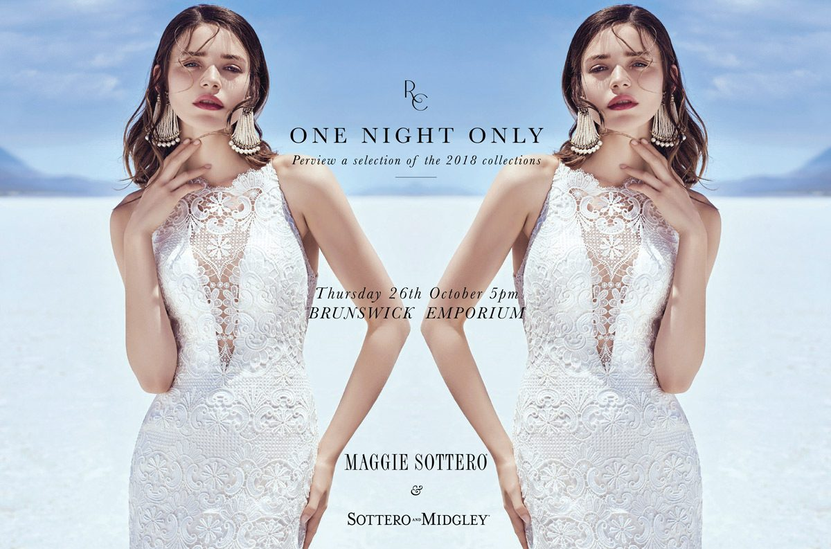 One night only maggie sottero trunk show