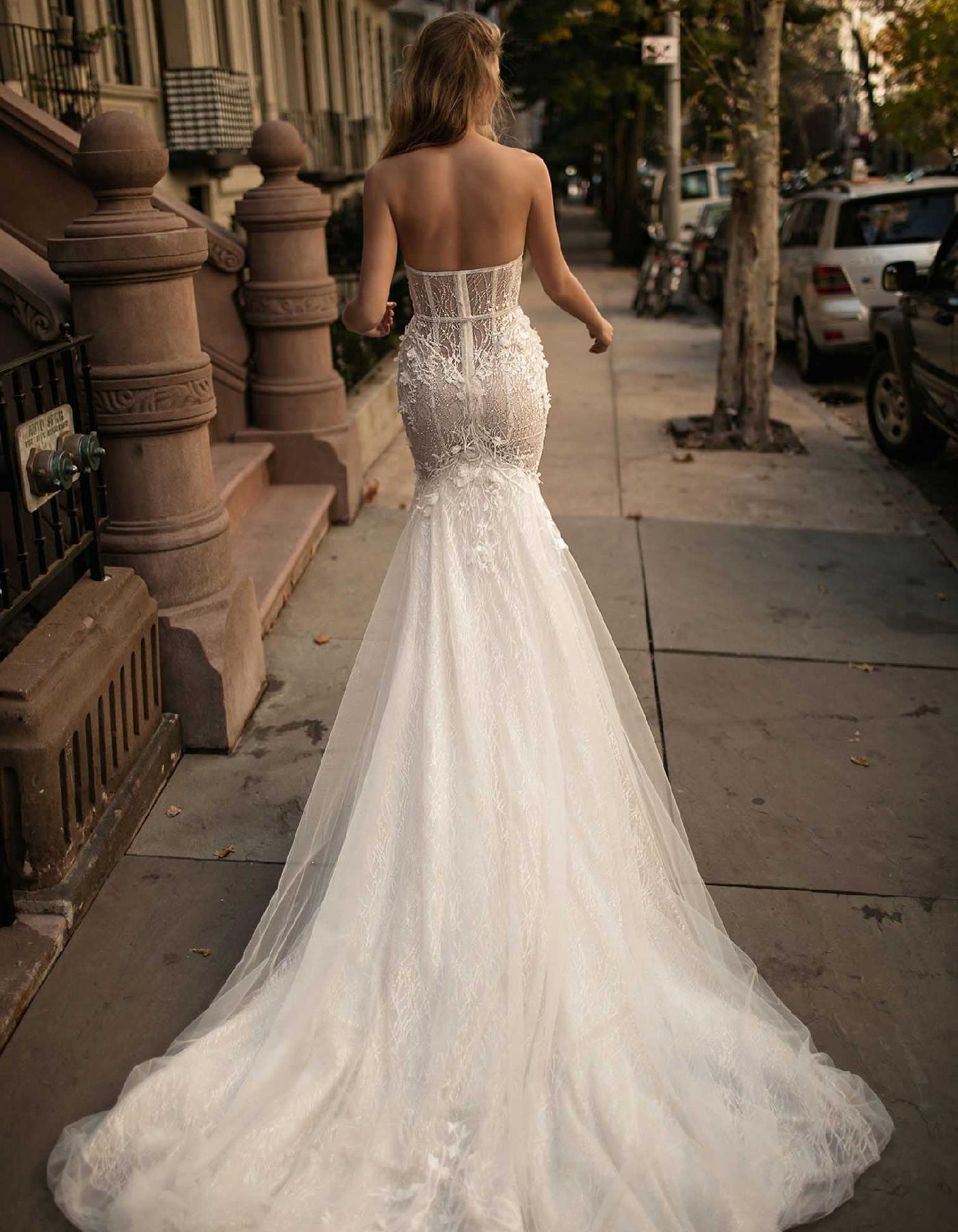 Luxury Strapless Designer Wedding Dress 17 110 By Berta