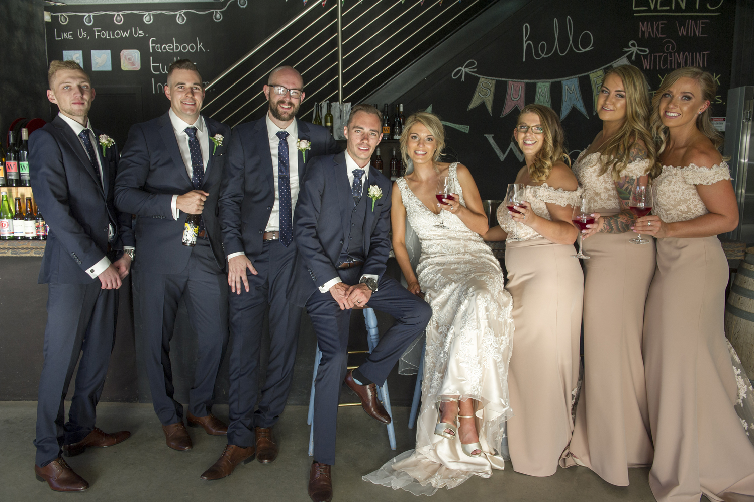 ROBYN + MITCHELL MELBOURNE WEDDING - ALLURE BRIDALS WEARING STYLE ANGIE 9116 - A -LINE WEDDING DRESS