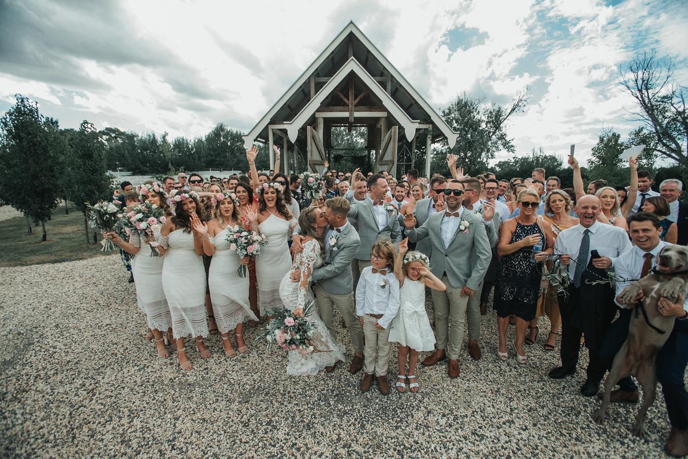 Hannah + David - RCREALBRIDE - Raffaele Ciuca - Melbourne Wedding - Demetrios Style 717