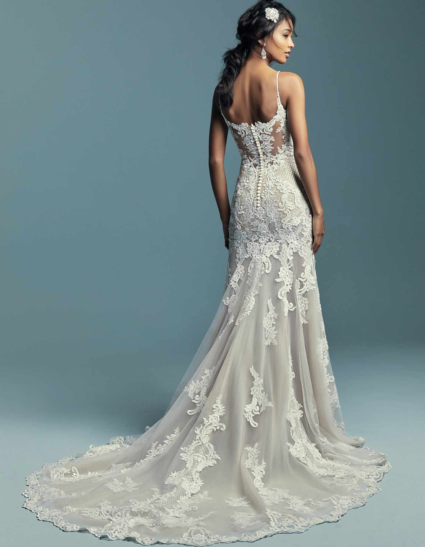 ABBIE MARIE by Maggie Sottero | Fit and Flare Wedding Gown