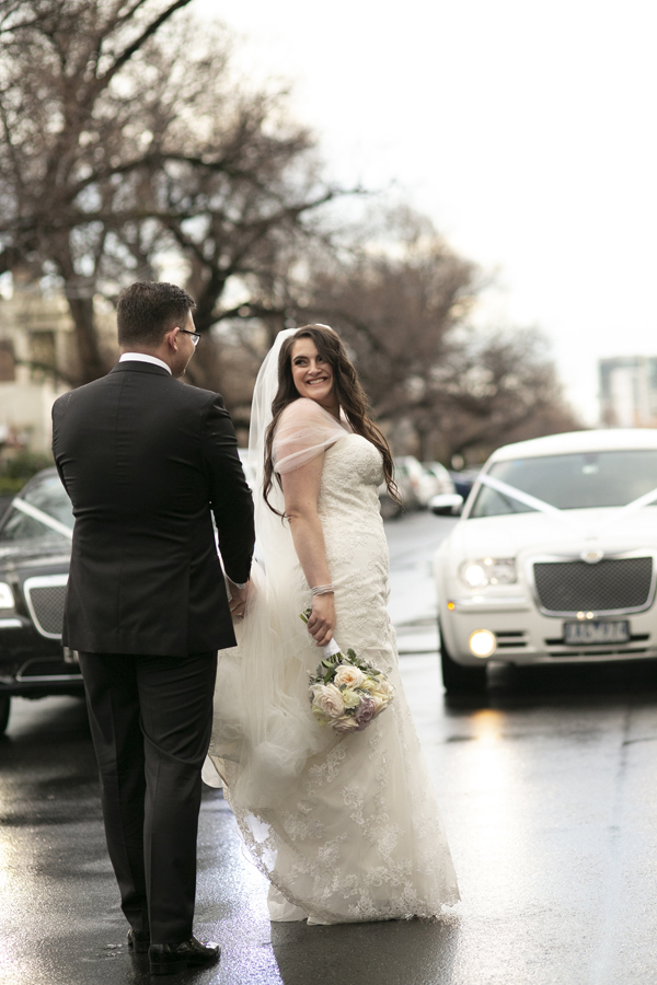 RC REAL BRIDE MICHELLE + NATHAN - PRONOVIAS WEDDING DRESS IN PANOLA RAFFAELE CIUCA MELBOURNE