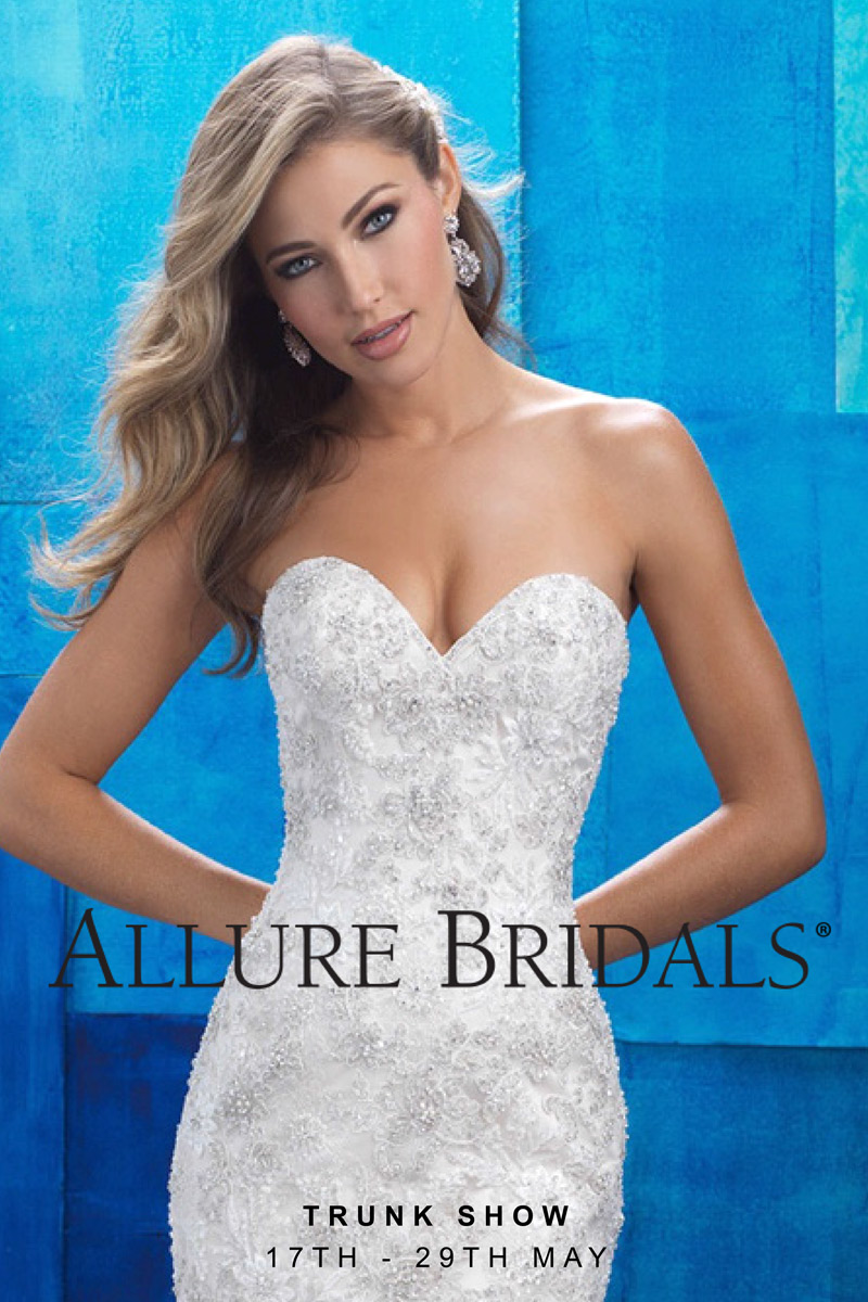 Allure Bridals 2017 wedding dress collection coming to Raffaele Ciuca in melbourne
