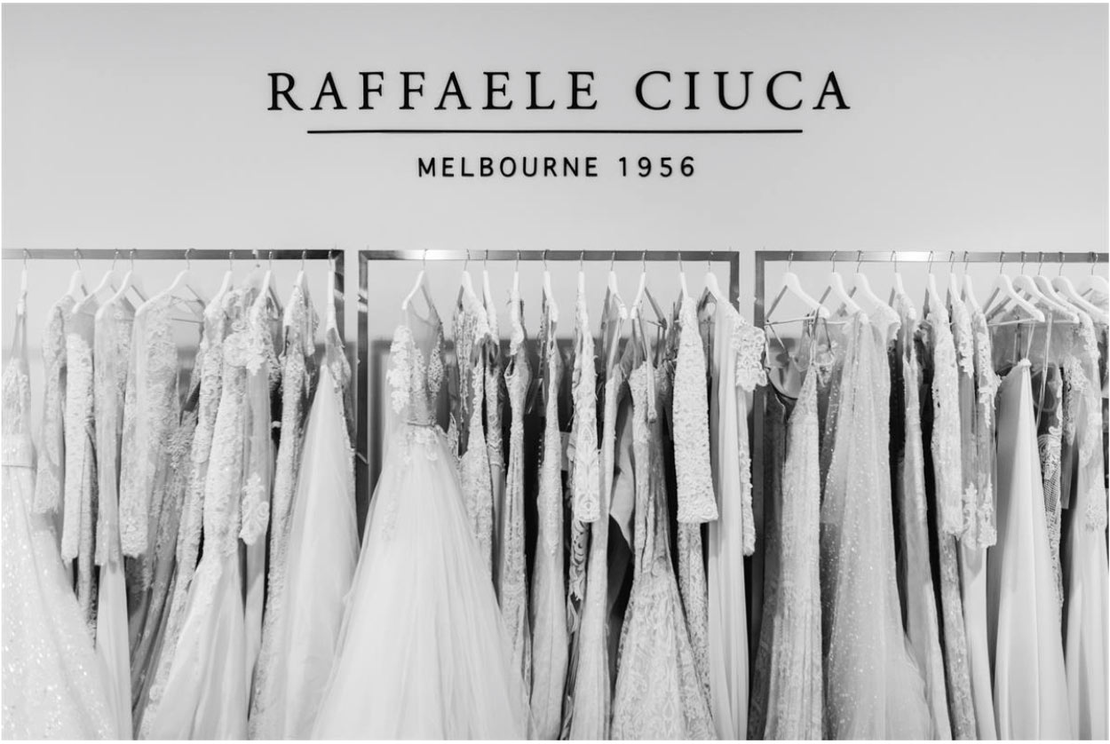 The Bride Guide - Nervous about wedding dress shopping? 6 stress-free solutions. New wedding dresses you will love! www.raffaeleciuca.com.au MELB . AUS