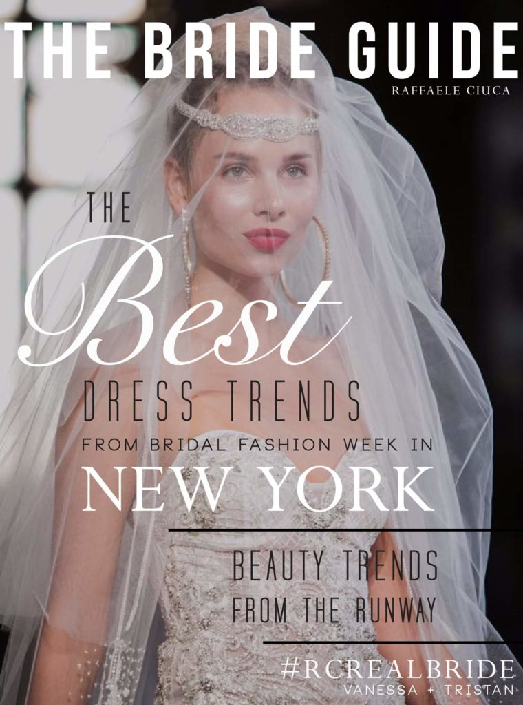 The best wedding dress trends from the fall 2017 new york bridal fashion week