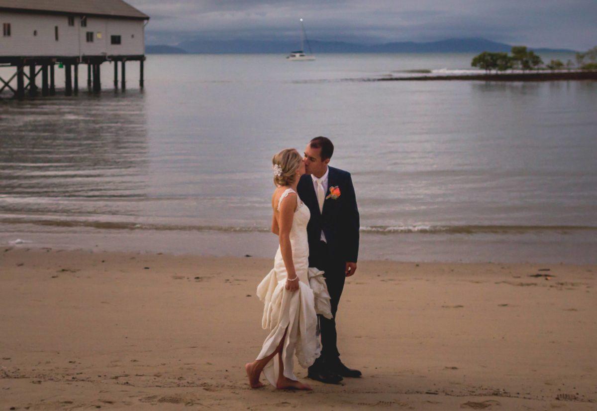 Destination Port Douglas wedding Pronovias