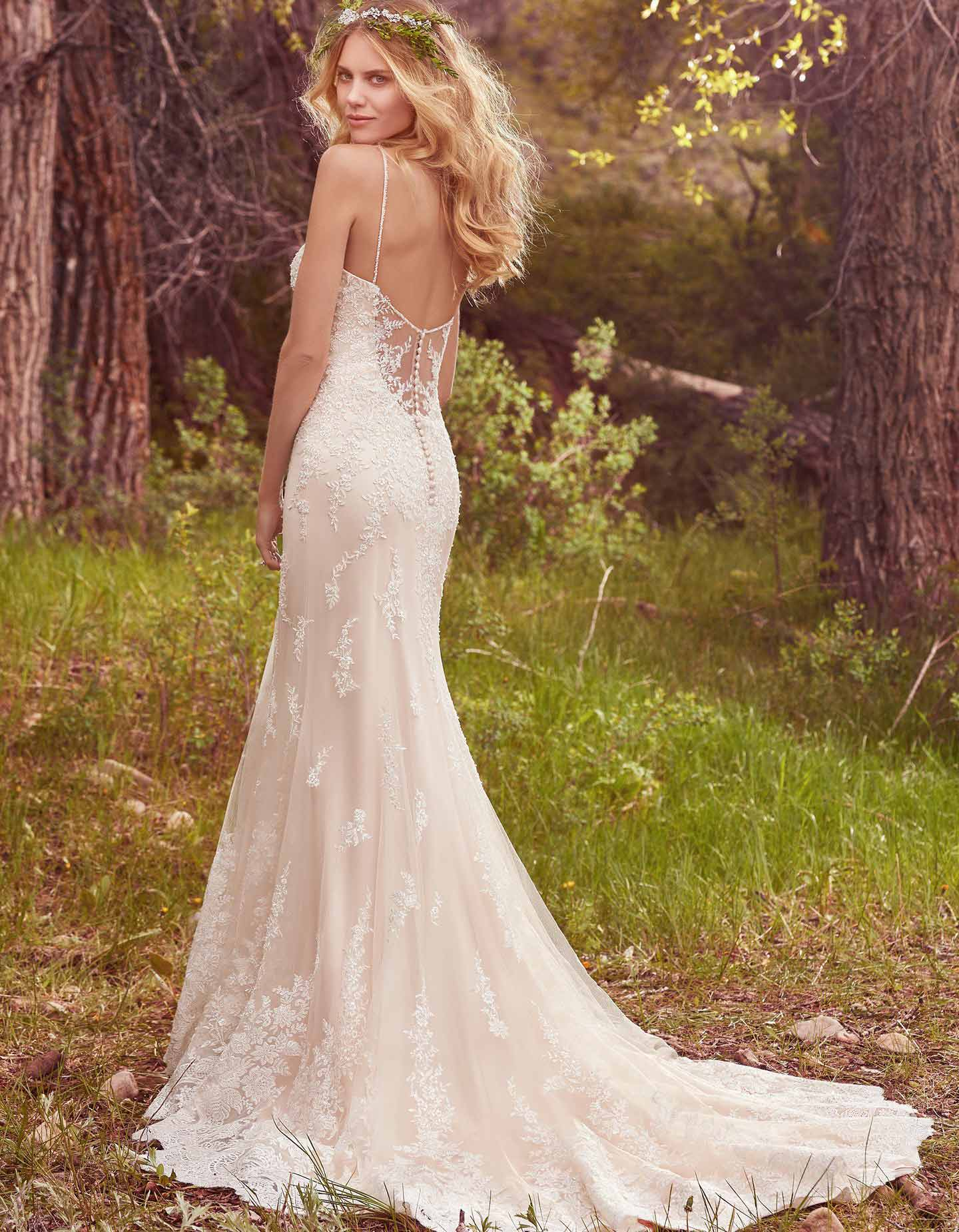 Nola By Maggie Sottero Slinky Bohemian Wedding Dress