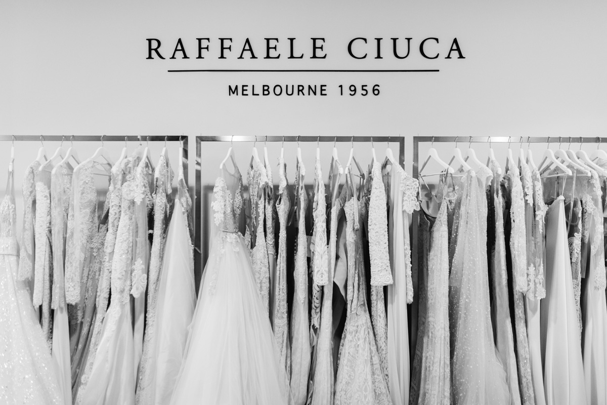 Wedding dress trunk shows held in Melbourne