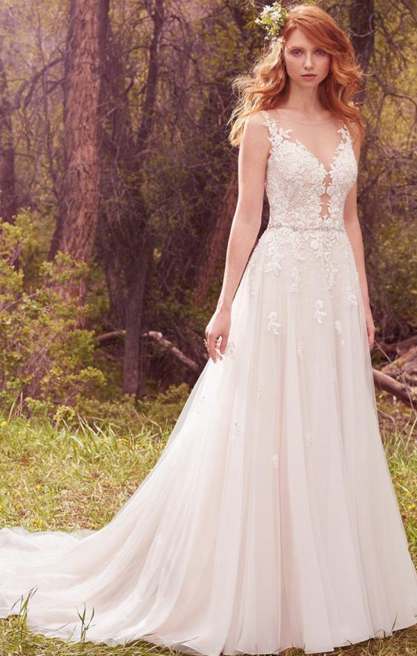 Avery wedding dress by maggie sottero