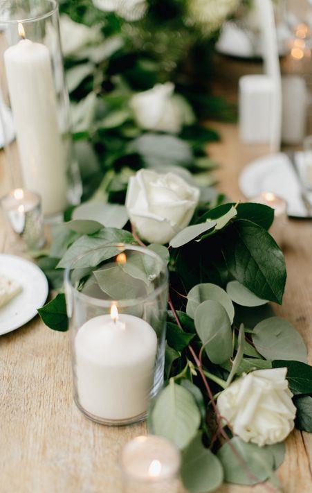 leafy wedding inspiration