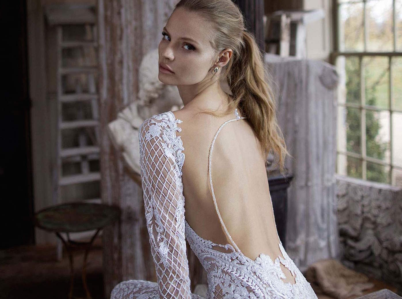 5 bohemian wedding dresses - Berta bridal from Raffaele Ciuca Bridal