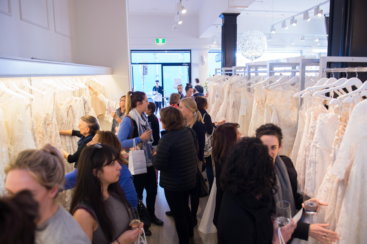 Trunk shows and special events to find your wedding dress