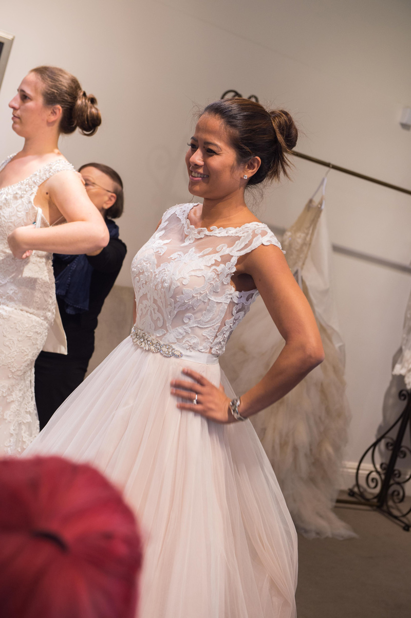 Finding your wedding dress, special events and offers at Raffaele Ciuca