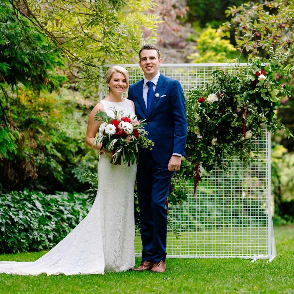 Pronovias Real Wedding Inspiration: Real Bride Emily Wears Ornani Wedding Dress By Pronovias