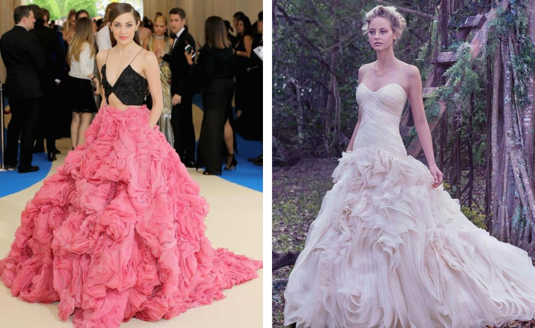 Laura-Osnes-in-Christian-Siriano-Penny-by-Maggie-Sottero-Met-Gala-2017