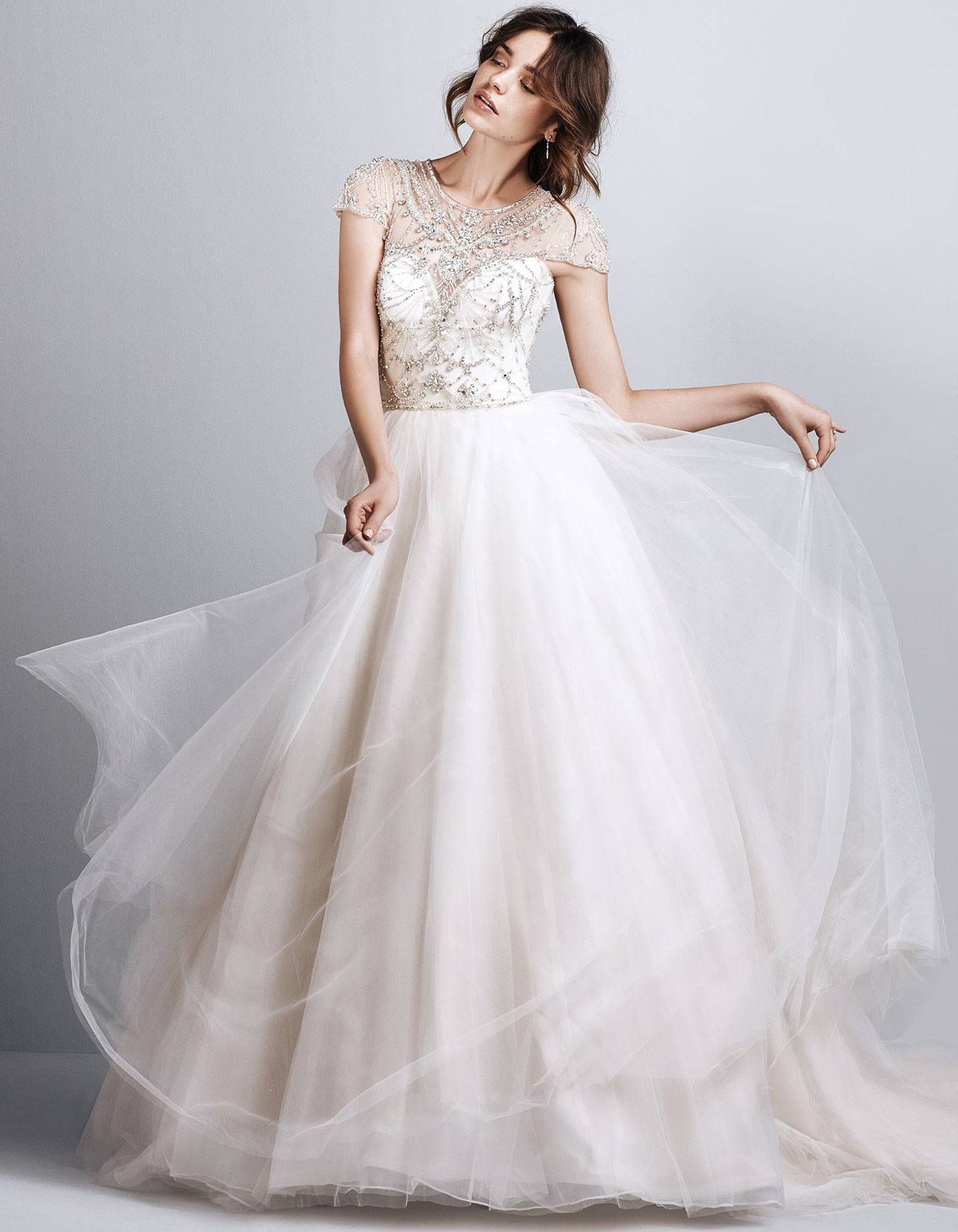 floaty ballgown Emery by Sottero and Midgely