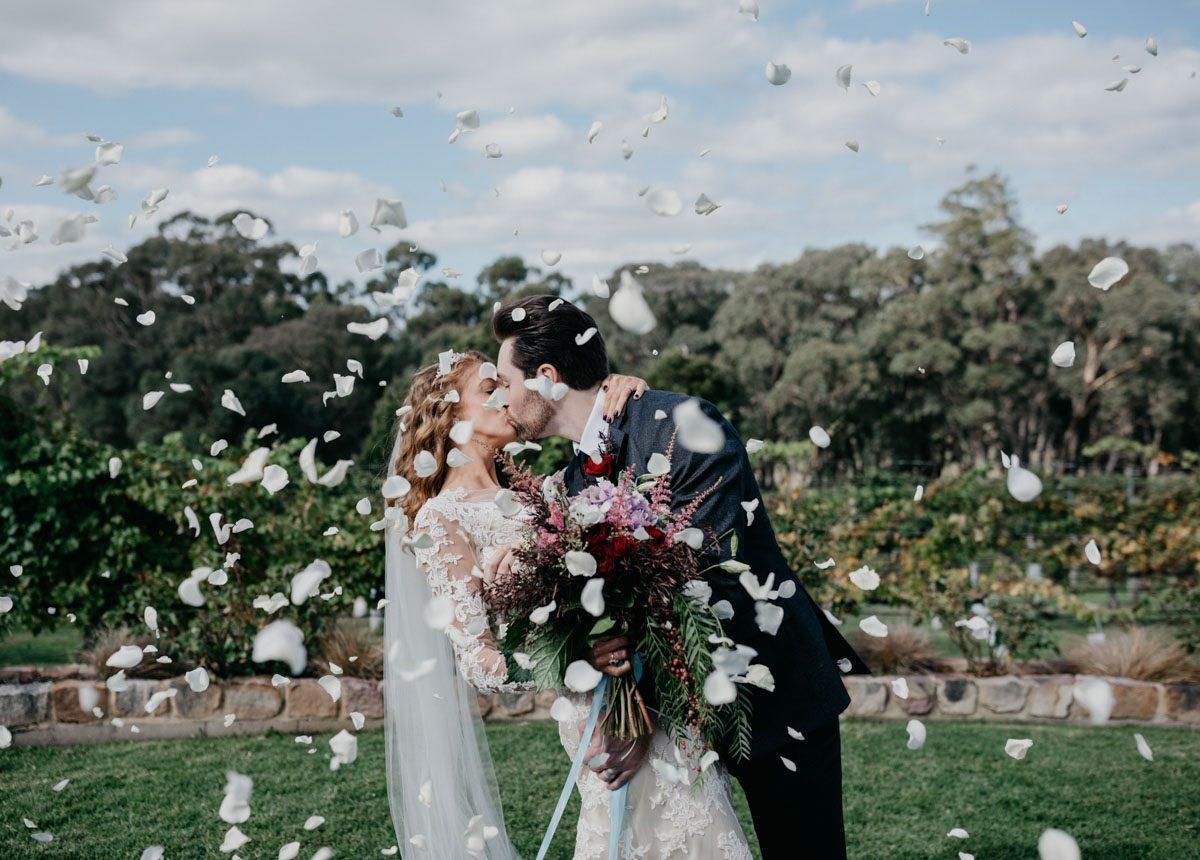 real bride francine wedding dress by maggie sottero melbourne australia