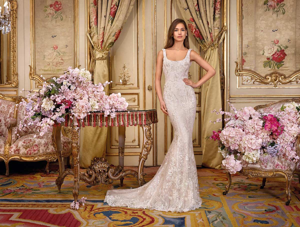 Ada demetrios platinum wedding dress