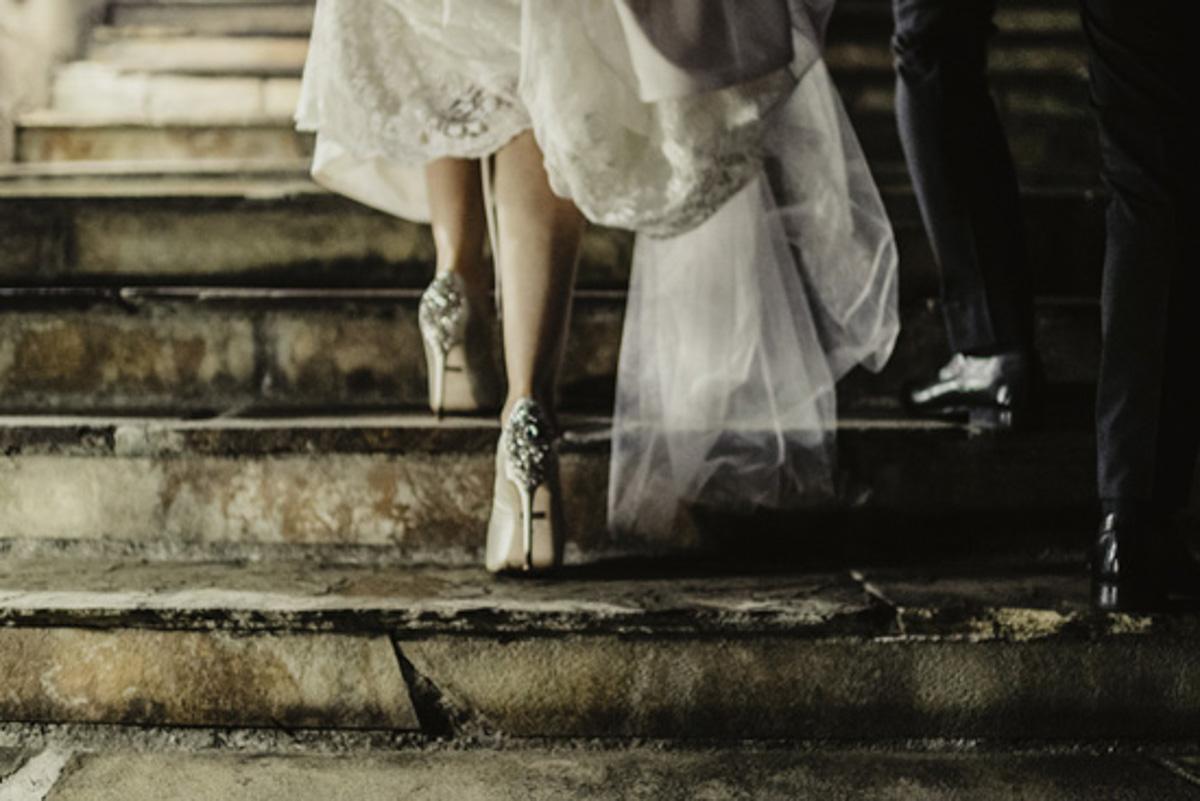 wedding high heels photo badgley mishka