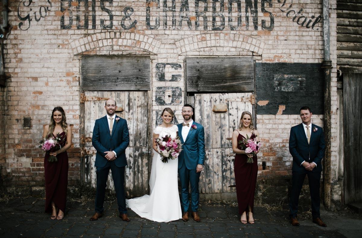 Raffaele Ciuca bride wears Onesi wedding dress by Pronovias in Melbourne, Australia