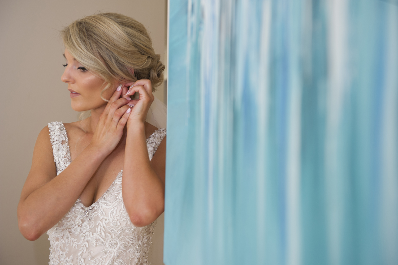 ROBYN + MITCHELL MELBOURNE WEDDING - ALLURE BRIDALS WEARING STYLE ANGIE 9116 - A -LINE WEDDING DRESS