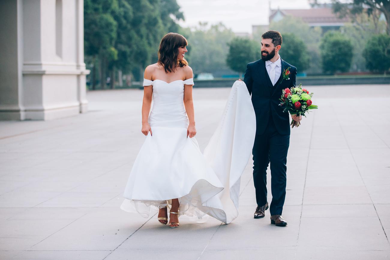 Clare + Ric RAFFAELE CIUCA - RC Real Bride Delco by Pronovias